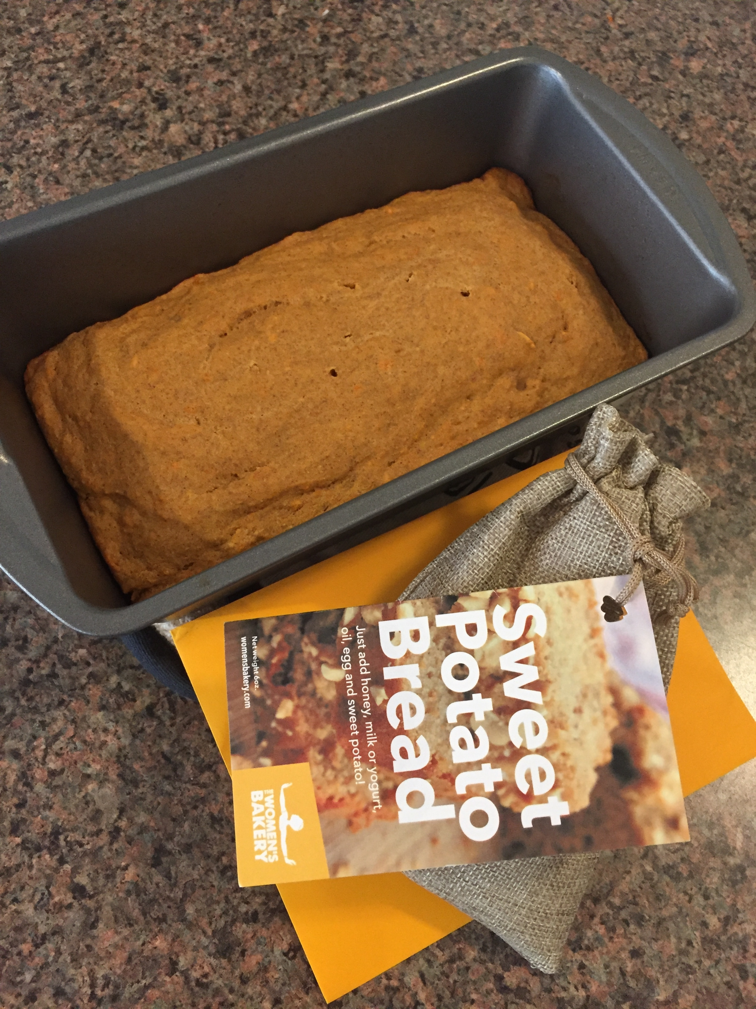 TWB friend,  Zach Verwey , tested the bread and used microwavable sweet potatoes. This kind of innovation is exactly what we hoped to see in the market testing phase.