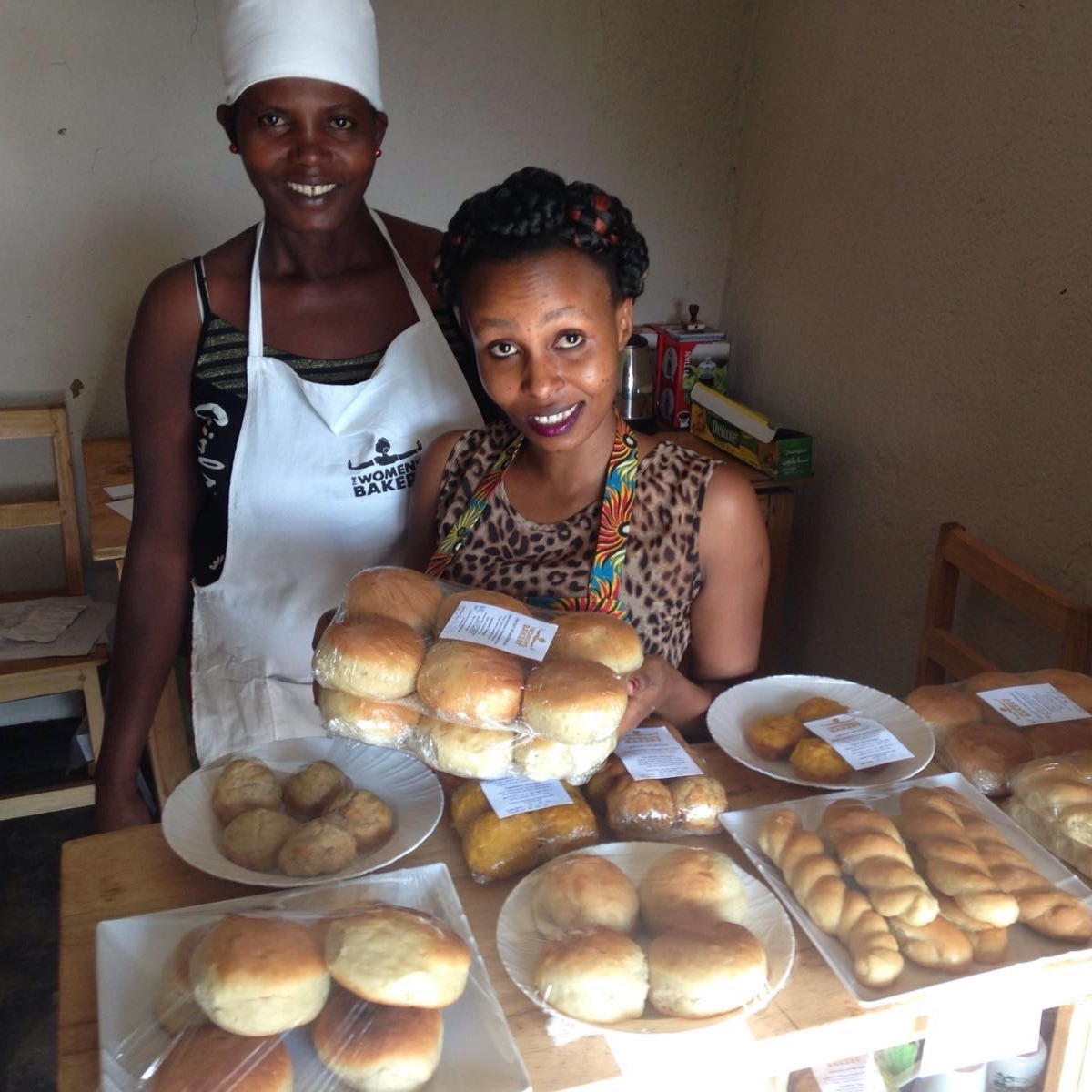 Operations and sales at the Kigali Bakery, 2016.