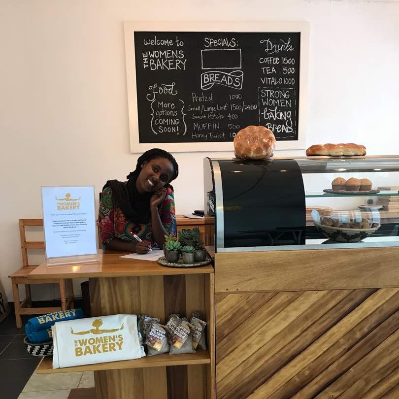 Soft launch of the new flagship bakery with Fran, our Marketing and Bakery Operations Coordinator, 2018.
