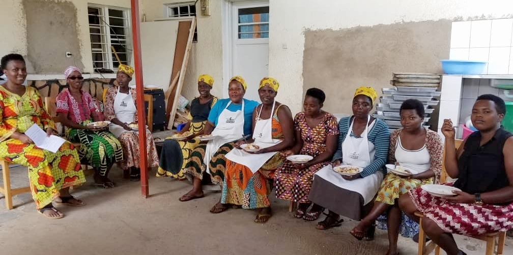 Fall 2017 - TWB rolls out nutrition extension programming and mental health counseling for Kigali women.