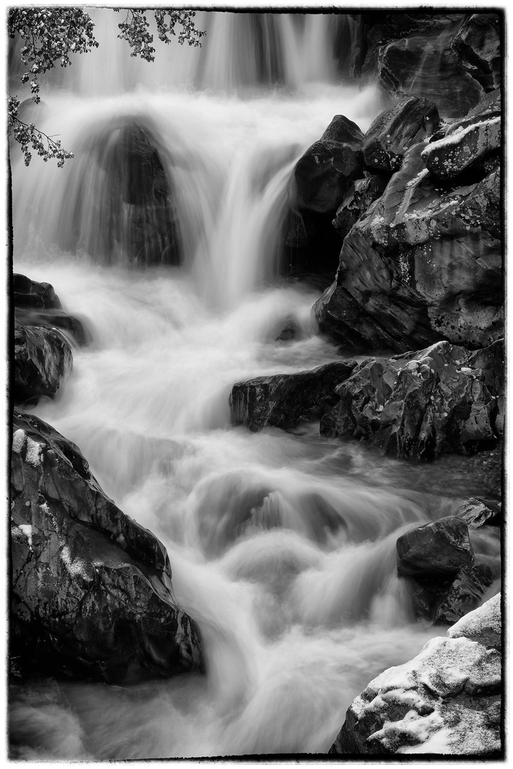 Cascading Creek Near Ouray CO, Greg Kluempers