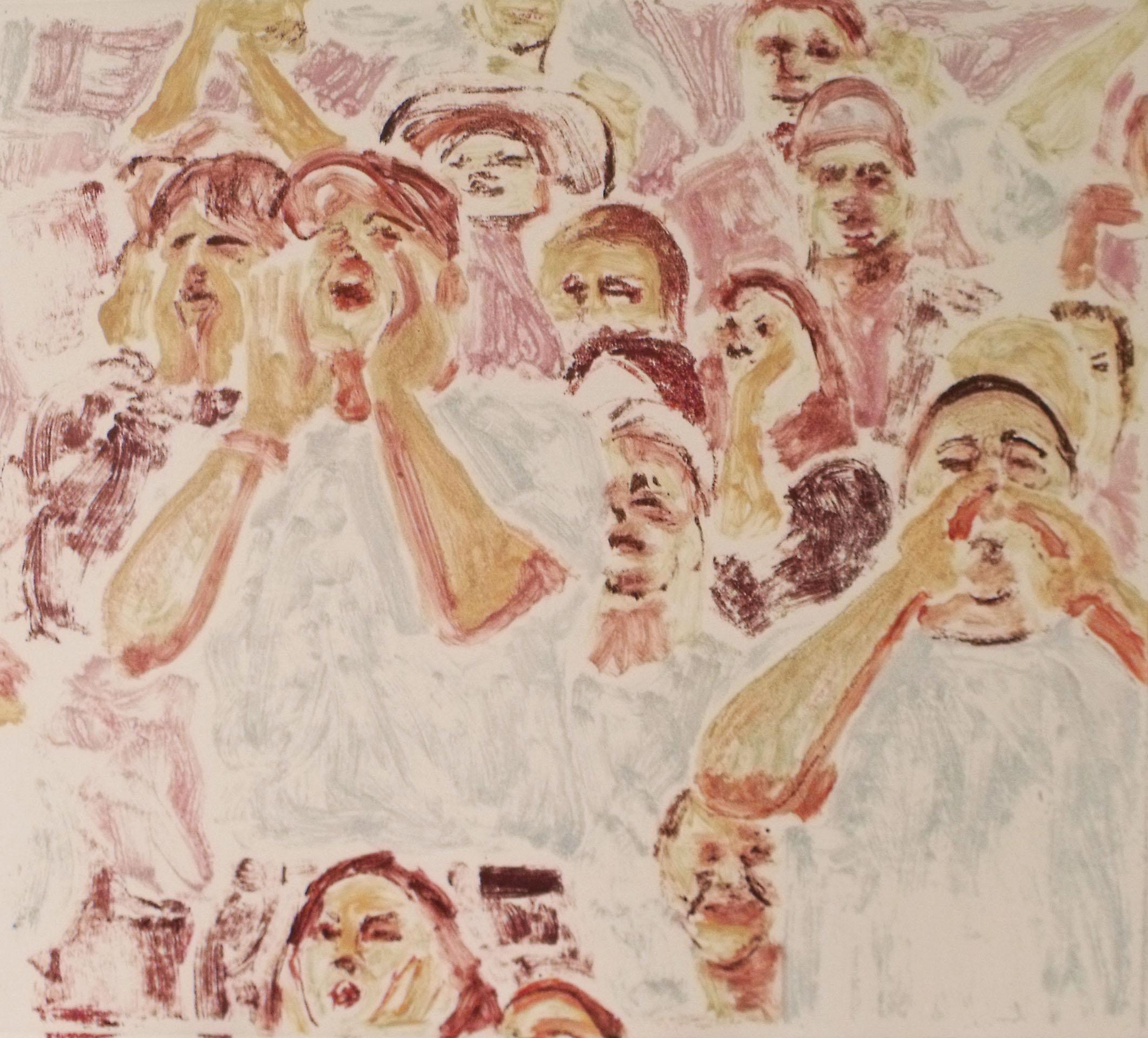 Crowd, Margaret Seiler