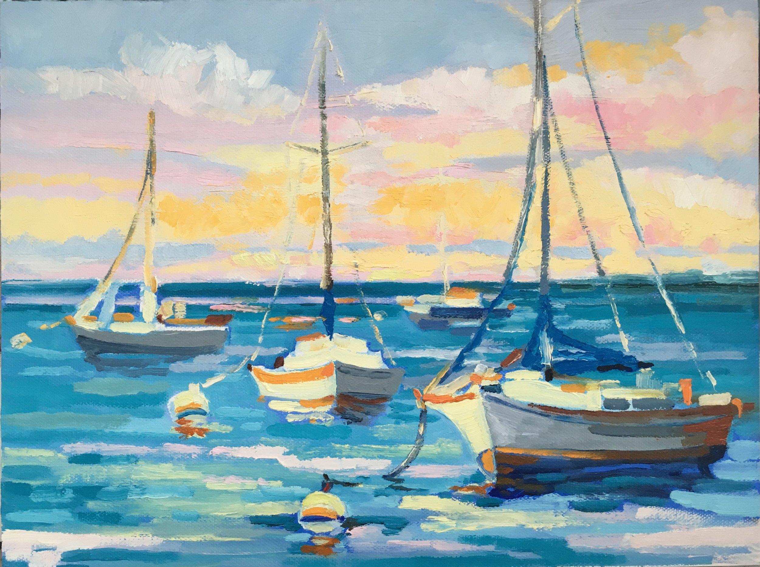 Sarasota Harbor, Jerri Vosseller