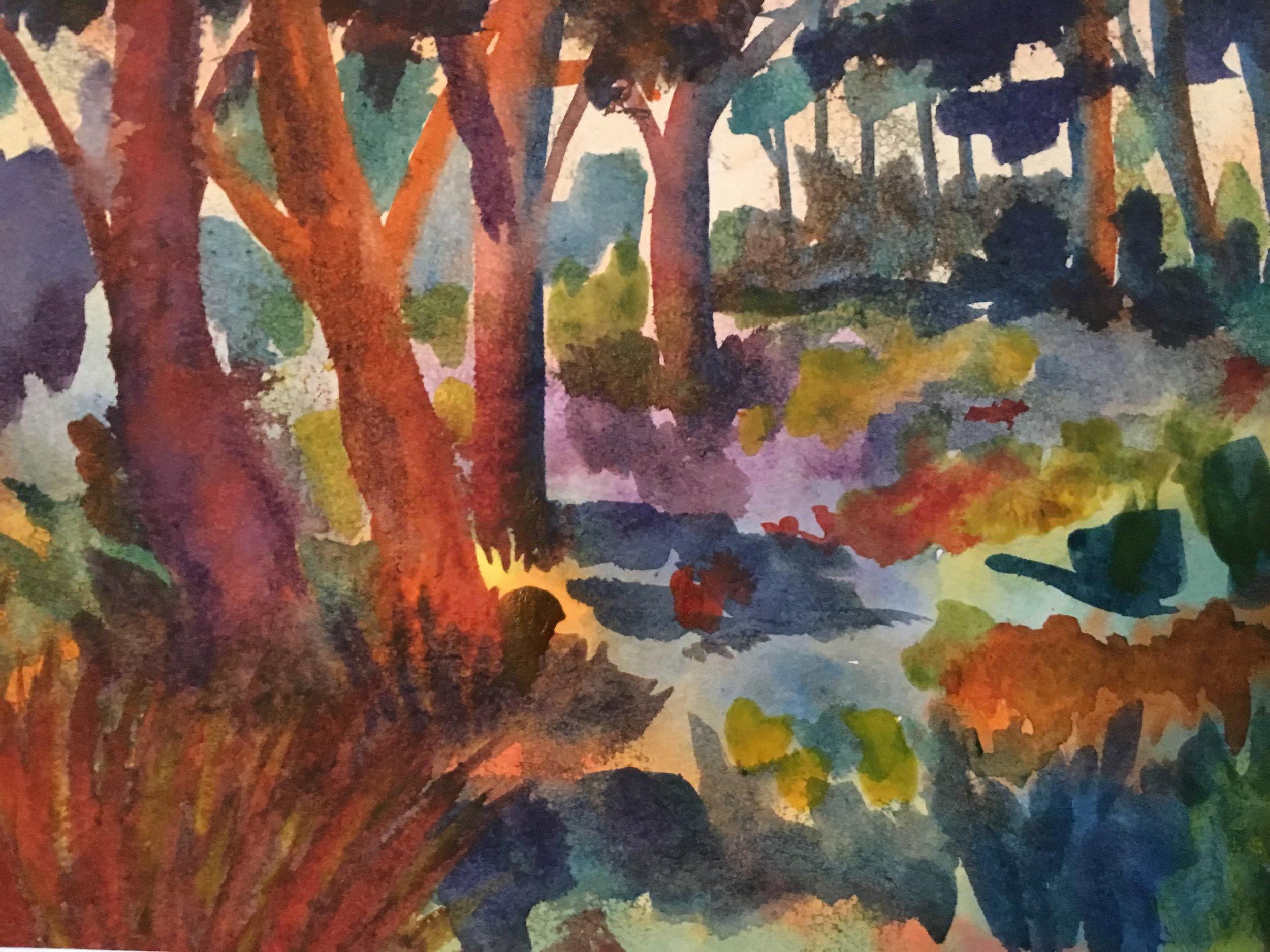 Patrick Murphy, Woods in Light