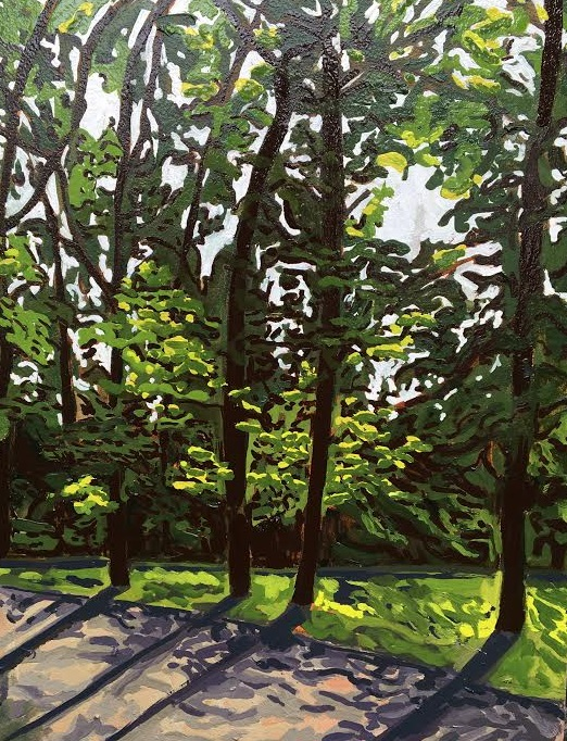 Melissa Bauer, Trees and shadows