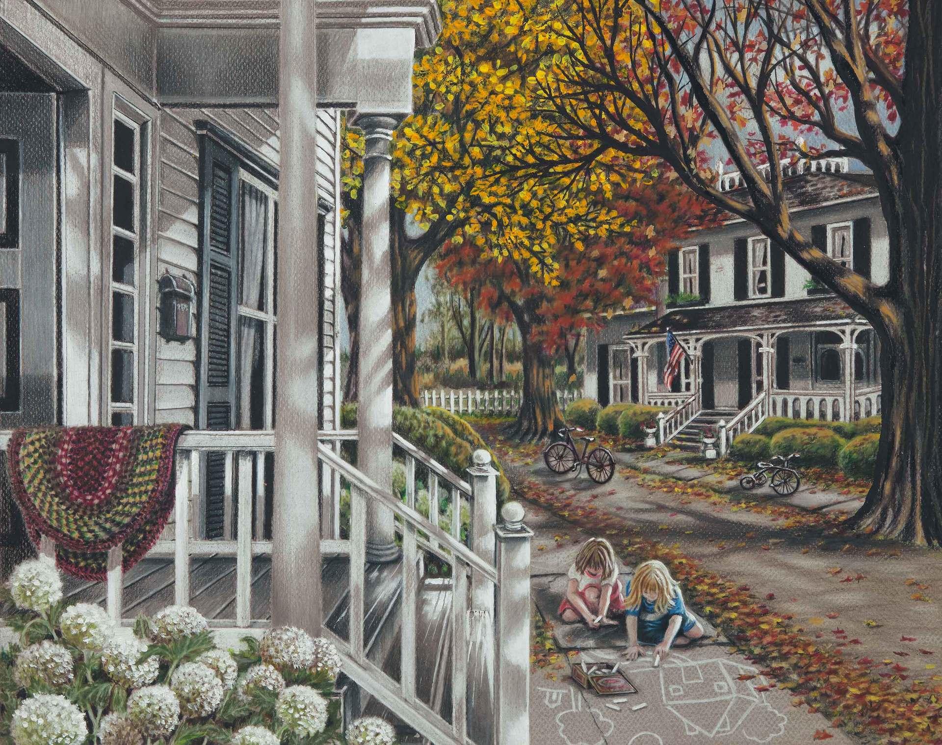 Carol Bonick, Sidewalk Chalk Artists
