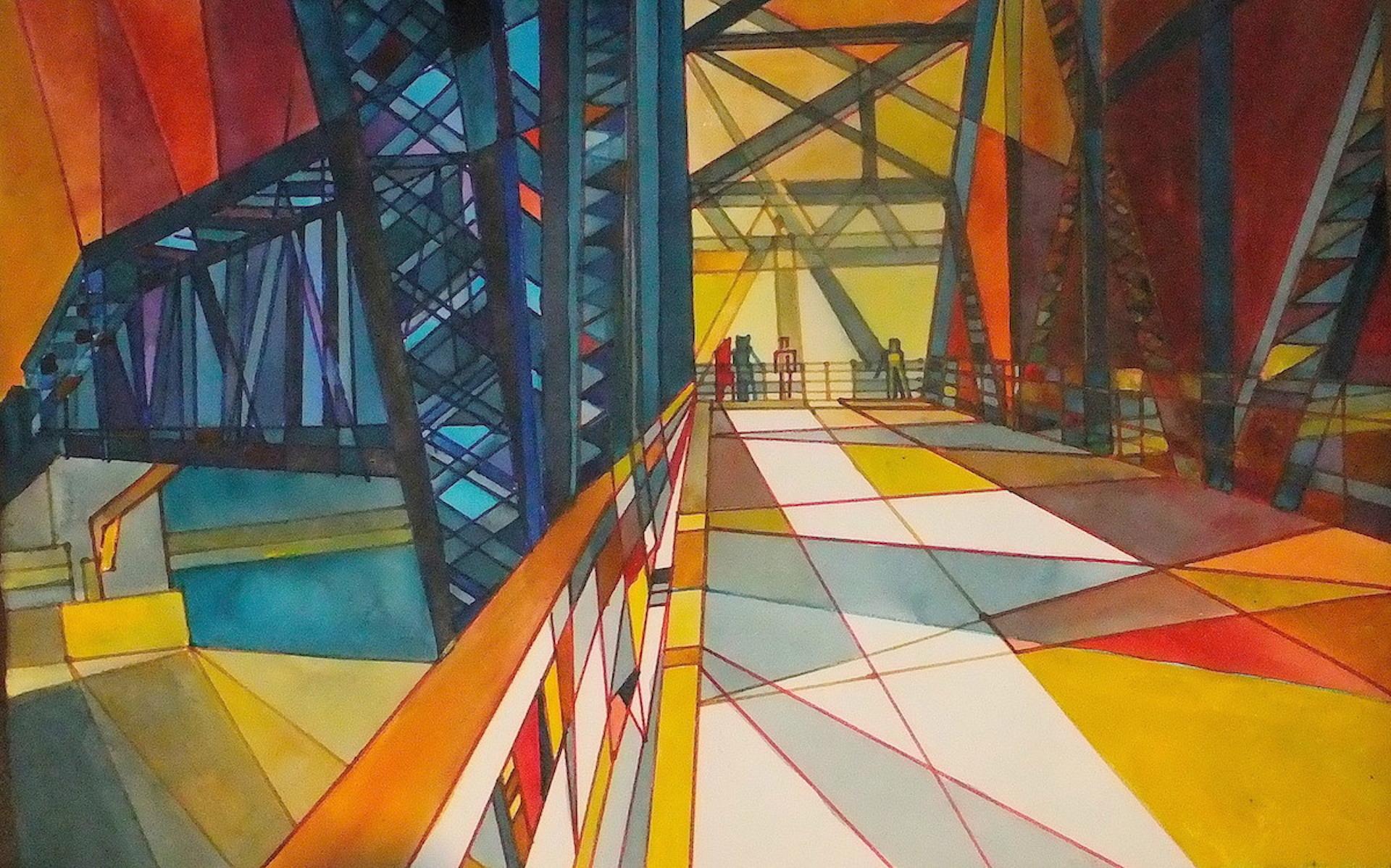 Marilynne Bradley, Chain of Rocks Bridge