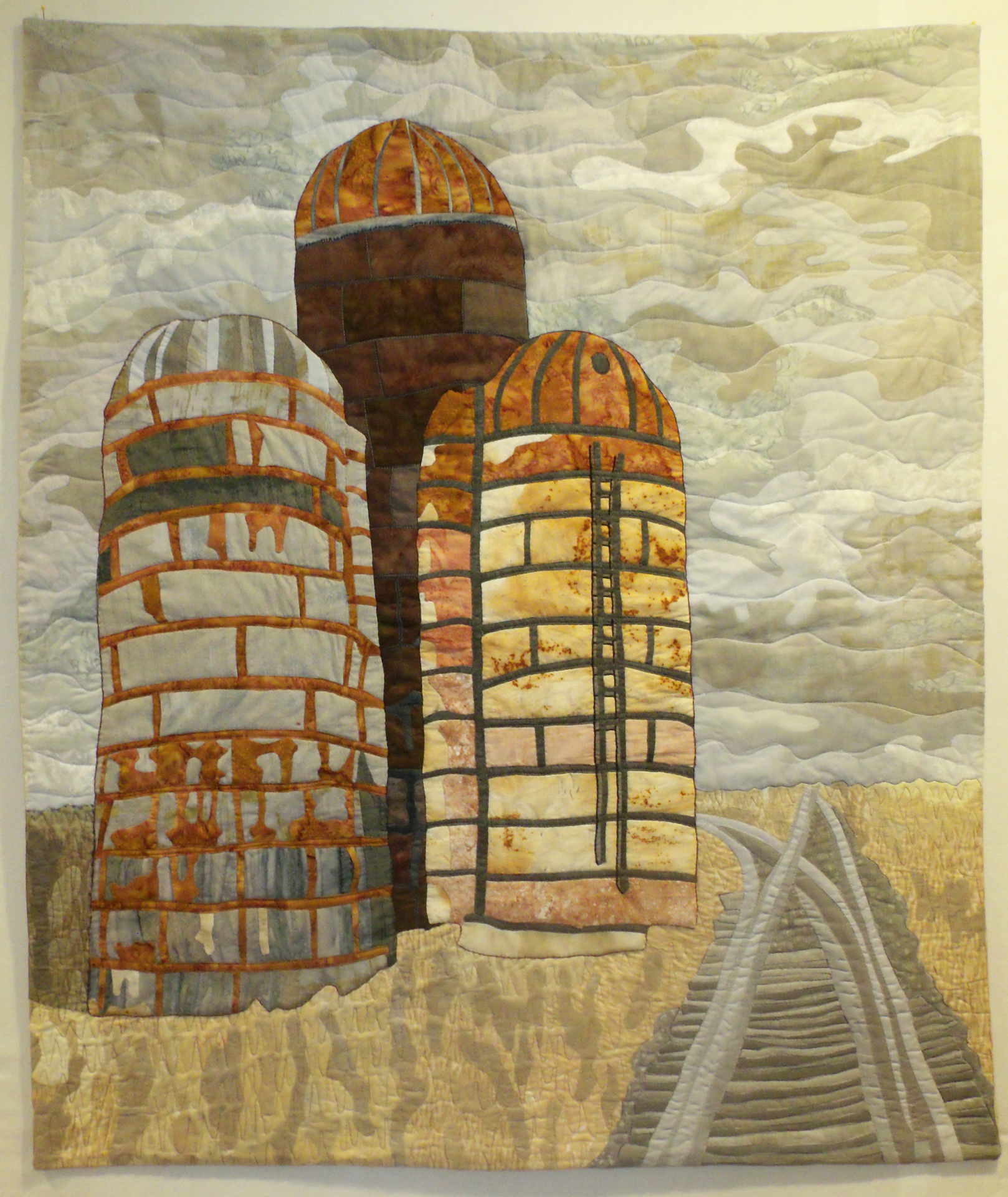 Bev Haring, Parched Earth: The Silos