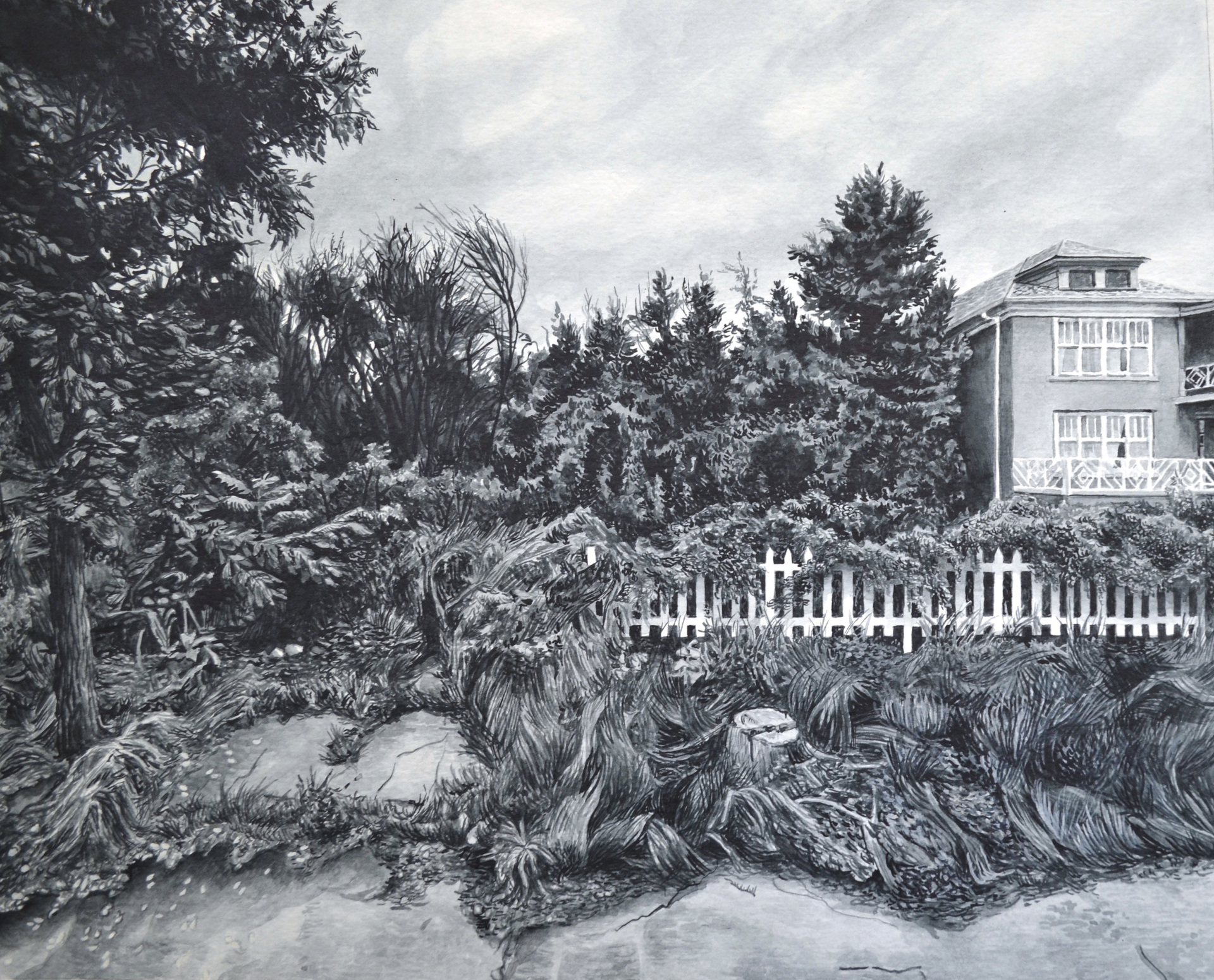 Whitney Sage, White Picket Fence, Homesickness Series