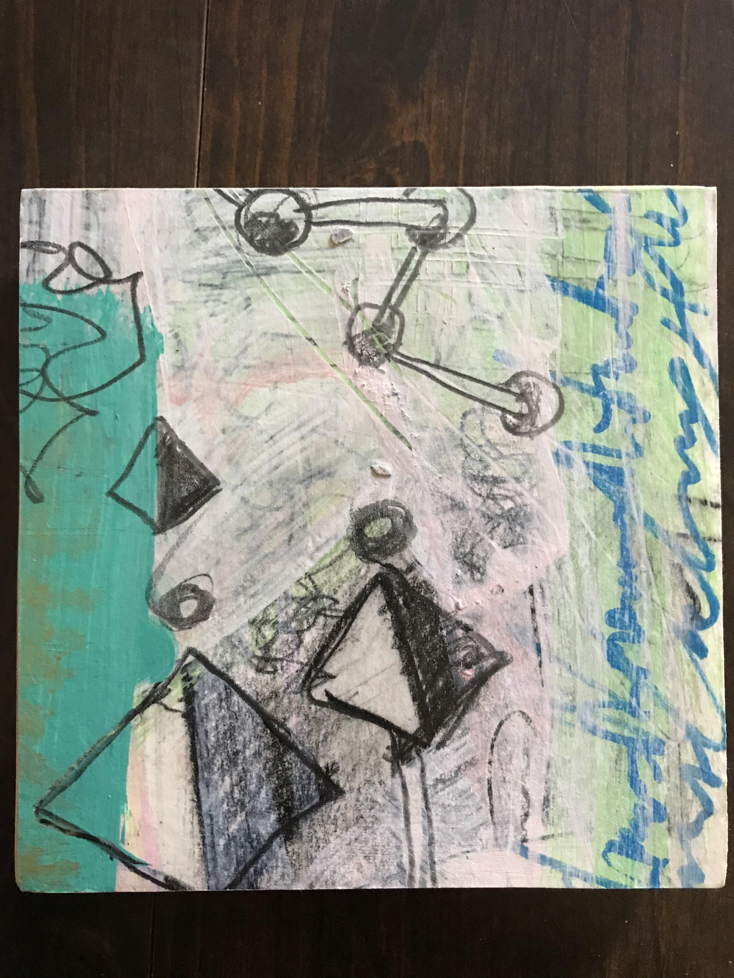 Matt Pierson, Abstract No.43 Pink Drip
