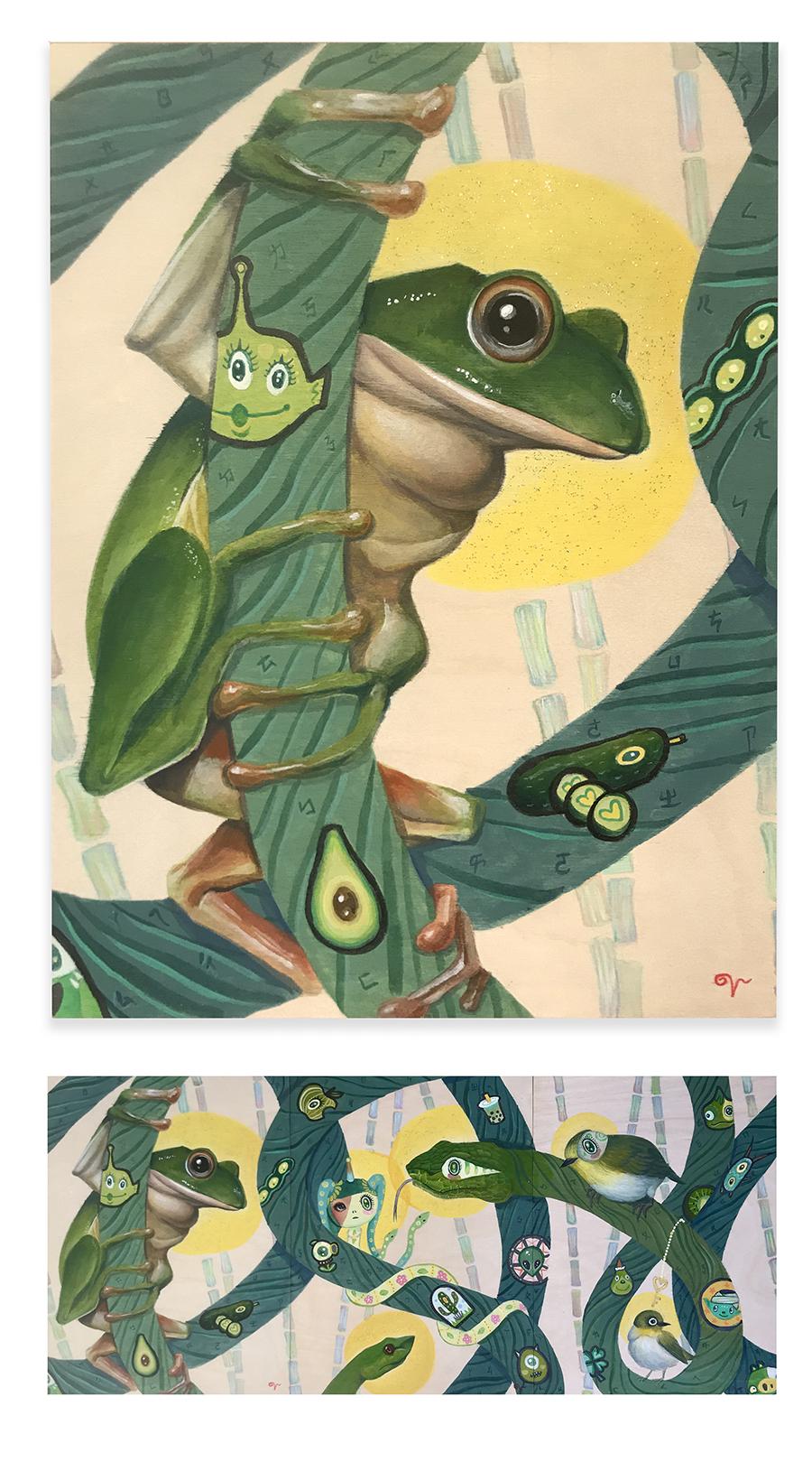 Venora Chen, Tree Frog