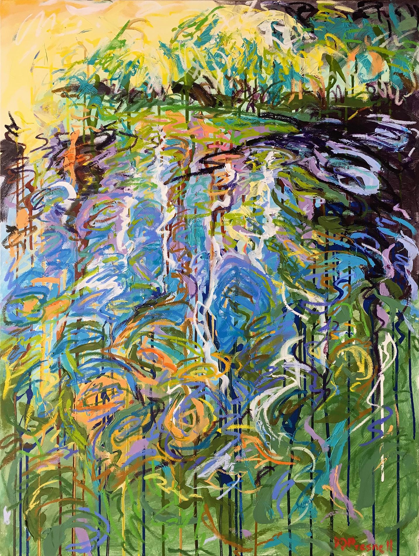 Denise Presnell, Evergreen Reflections IV
