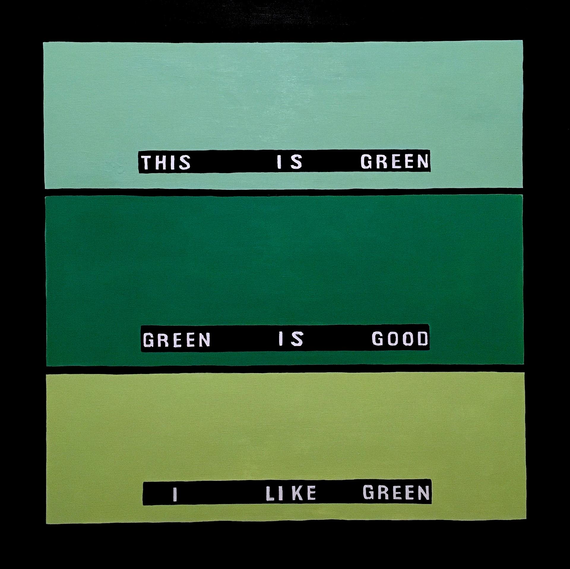 Amy Vidra, This is Green