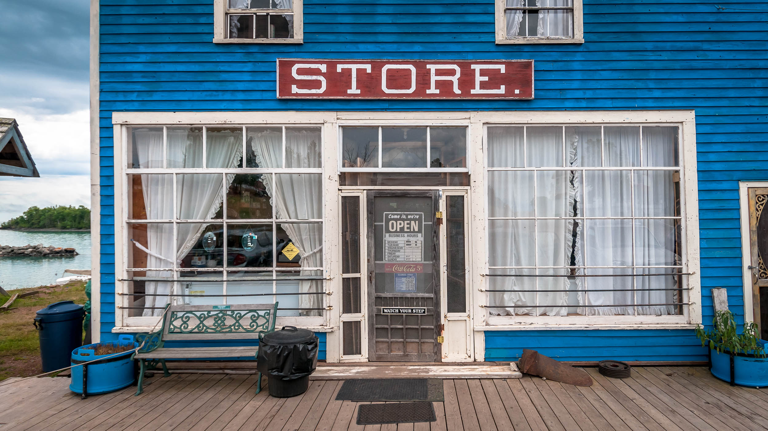 The Store, George Siede