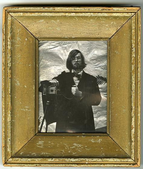 Self Portrait in Frock Coat, Bill Barrett