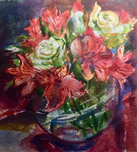 Roses II, Florine Porter