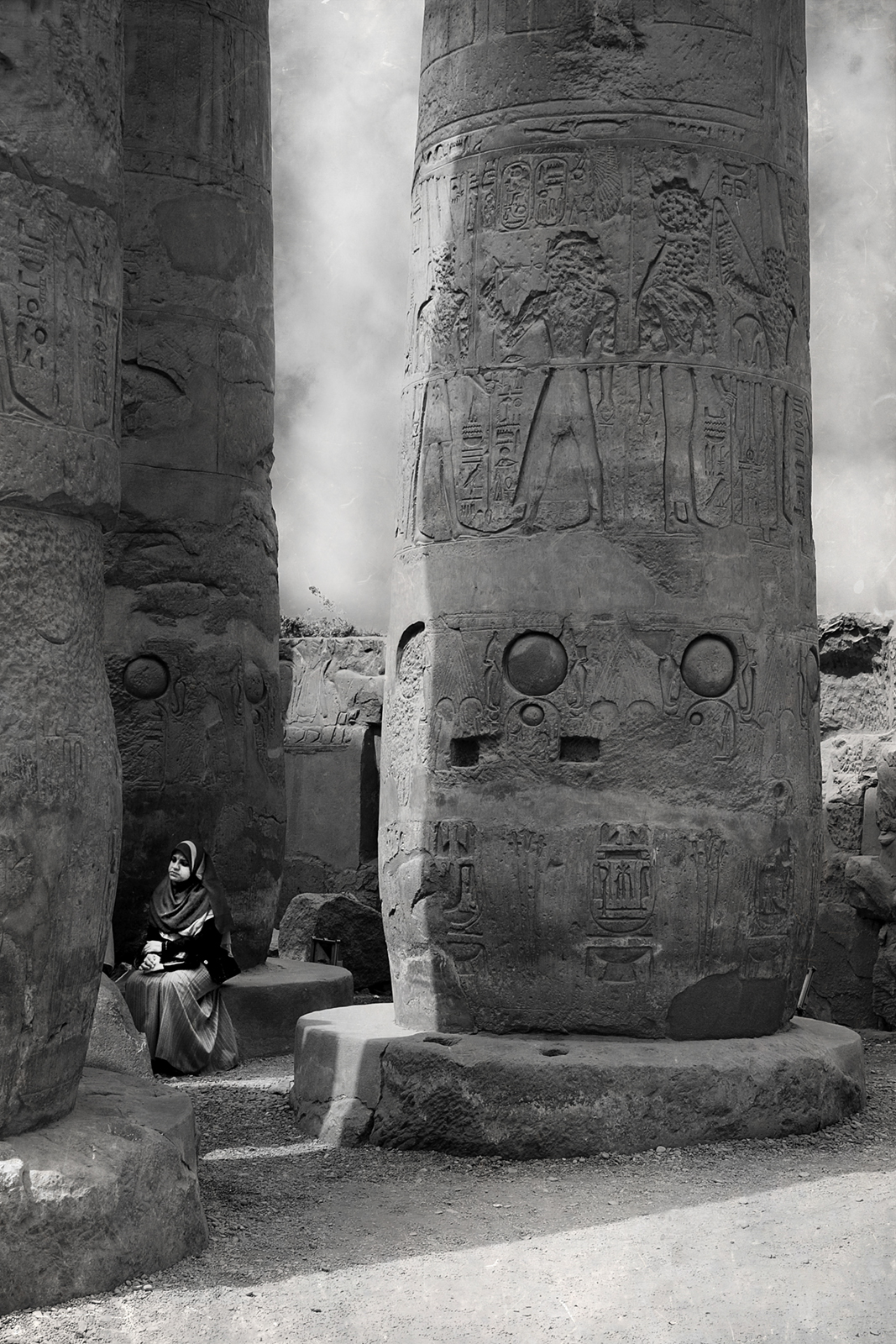 Girl in Luxor, Beth Goyer