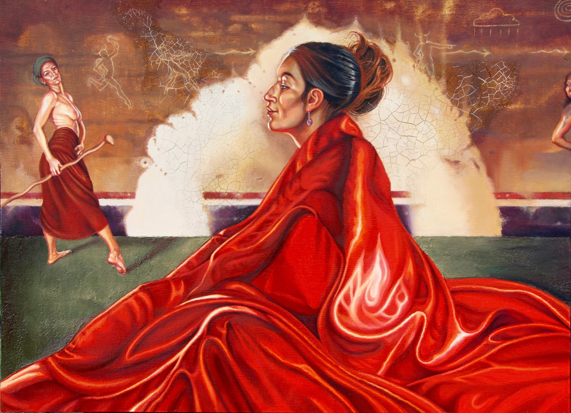 Red Meditation, Tanya Tewell