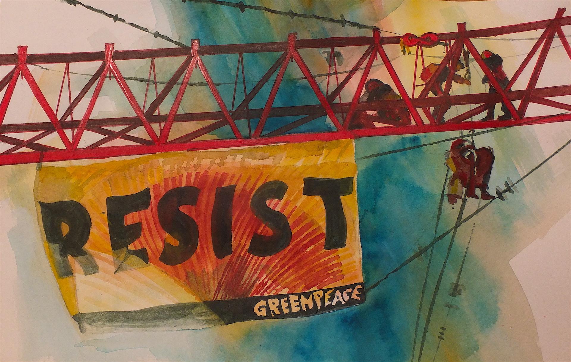 Resist, Marilynne Bradley