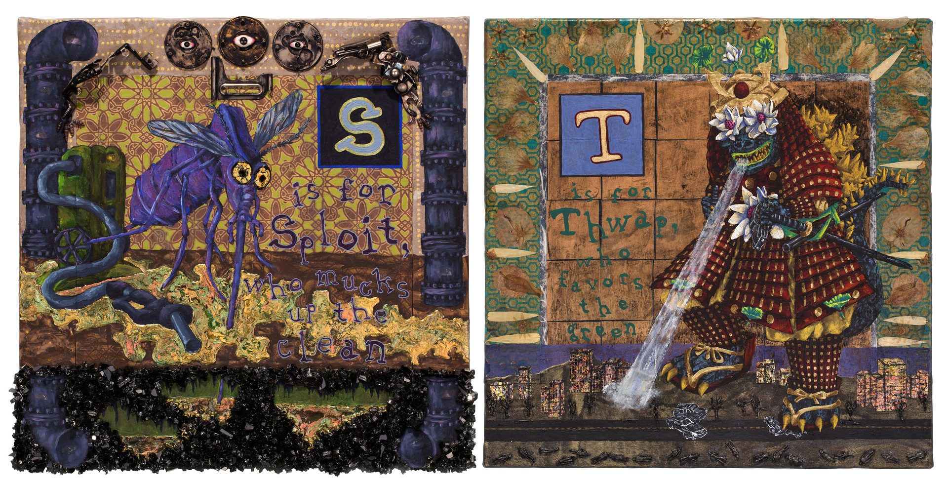 Monsterbet Series: Sploit/Thwap, Heidi Brueckner