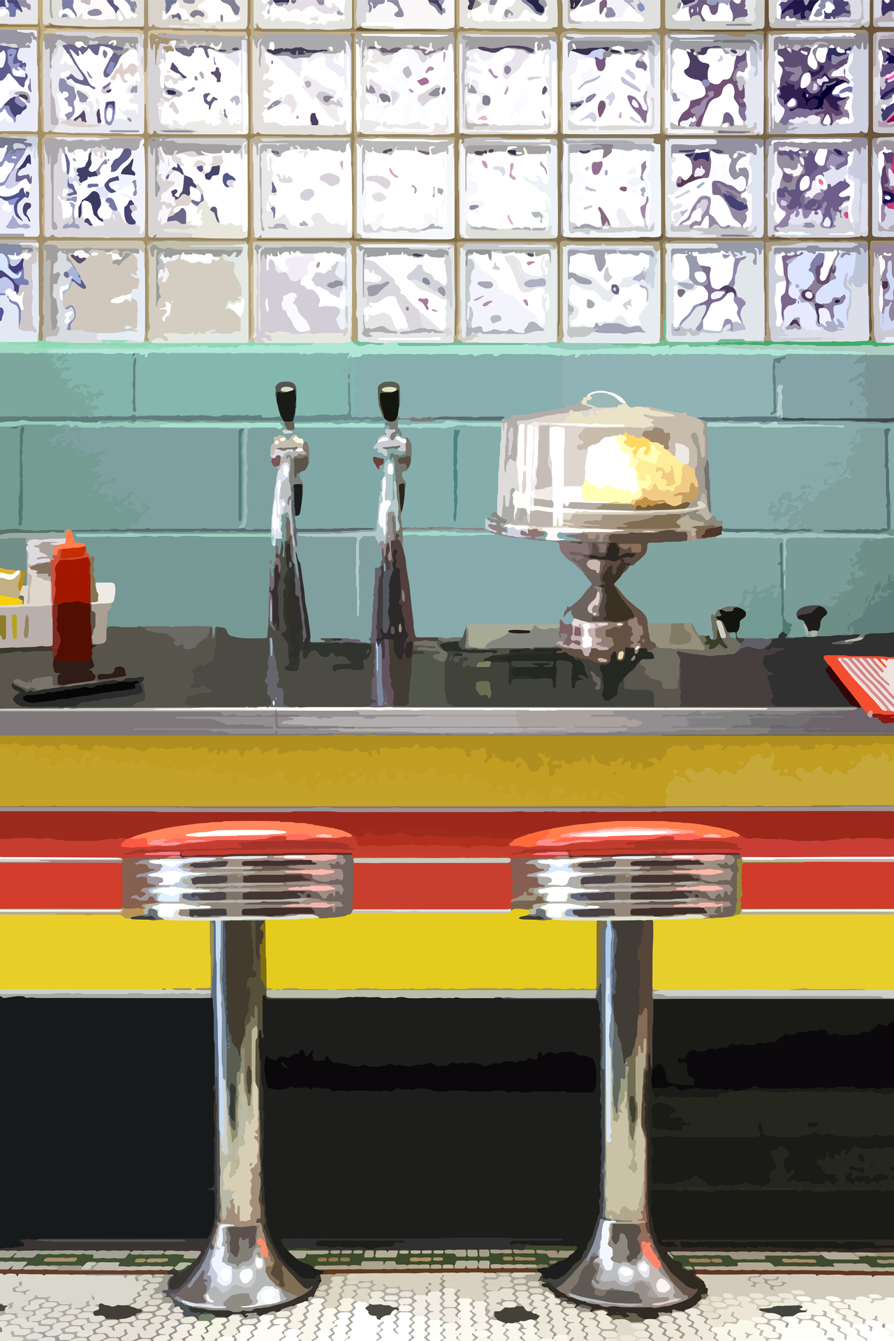 A Diner in 3 Layers, Beth Sharpe