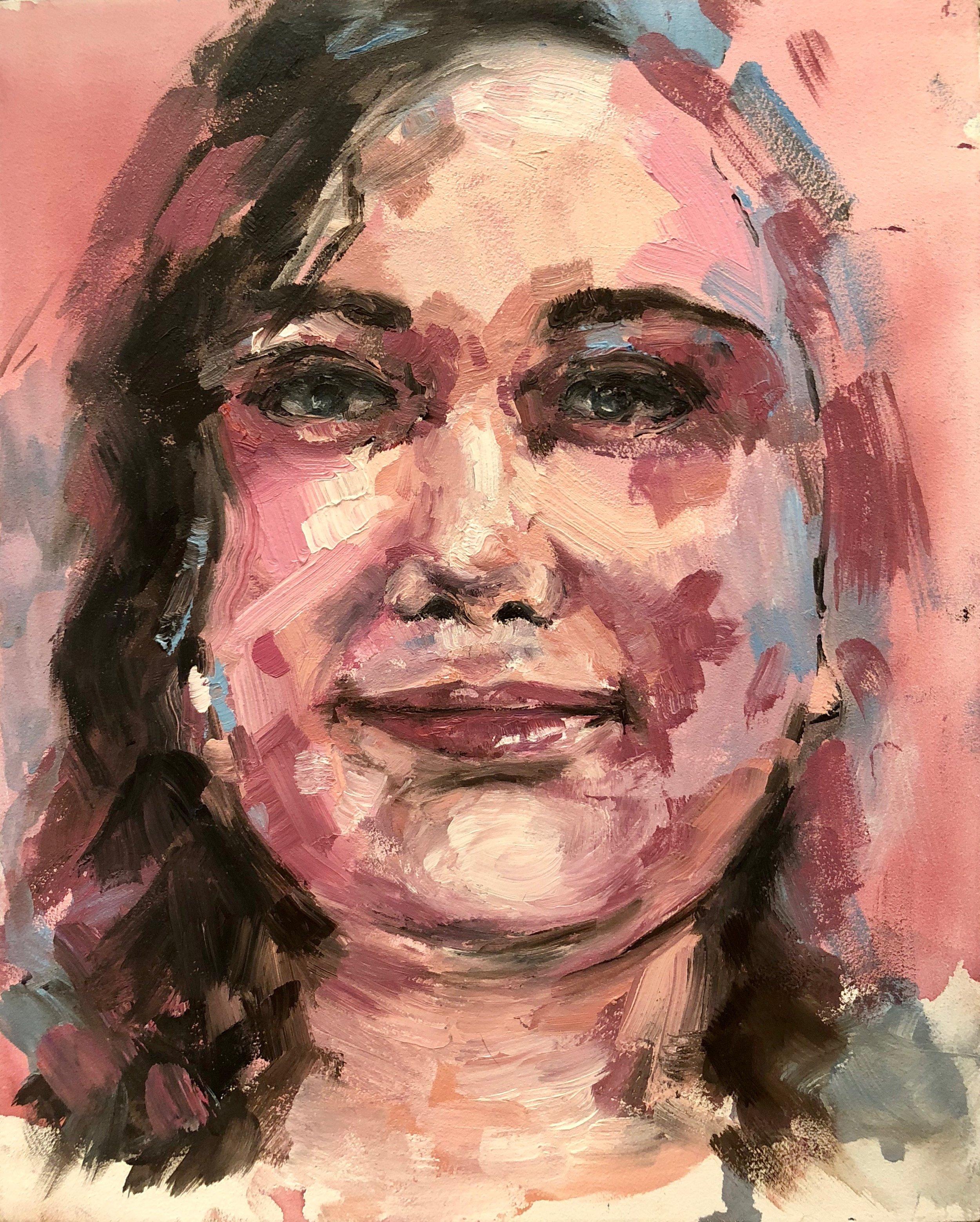 Self Portrait, Chelsie Wilson
