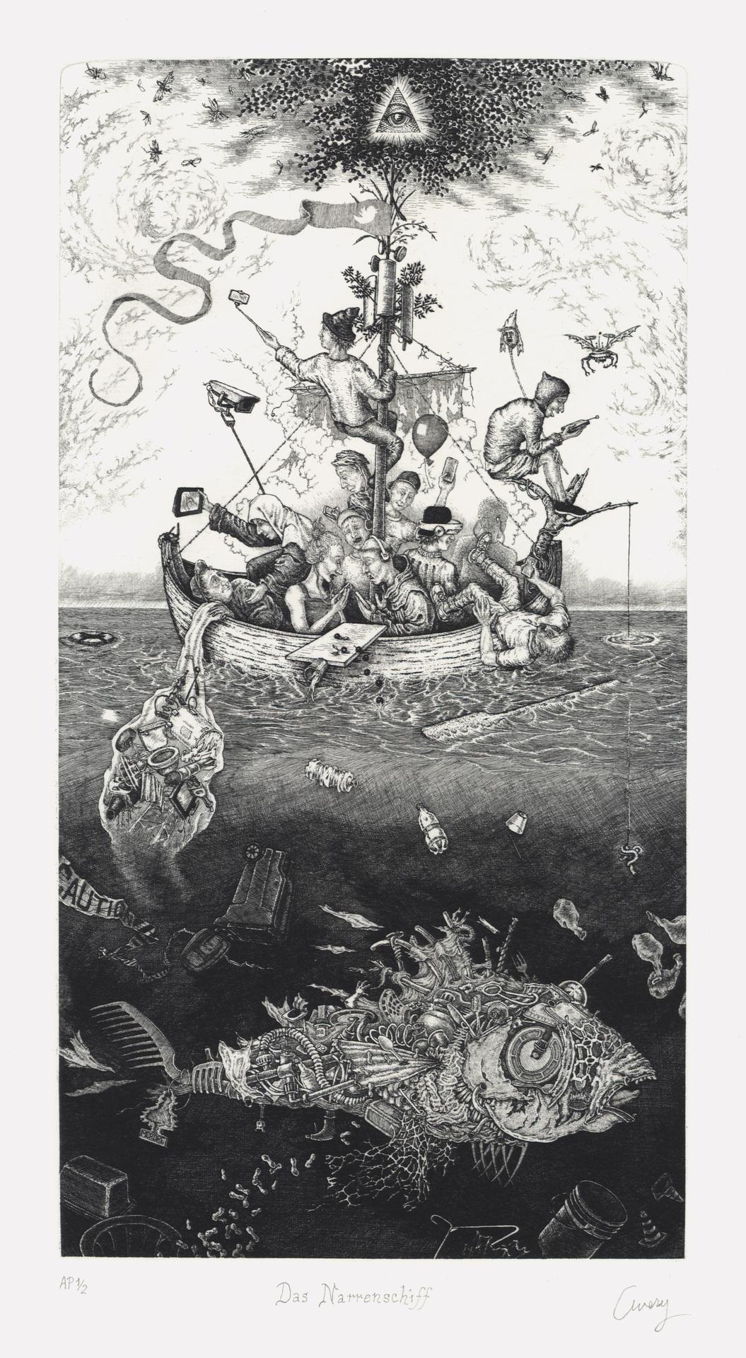 Das Narrenschiff, David Avery