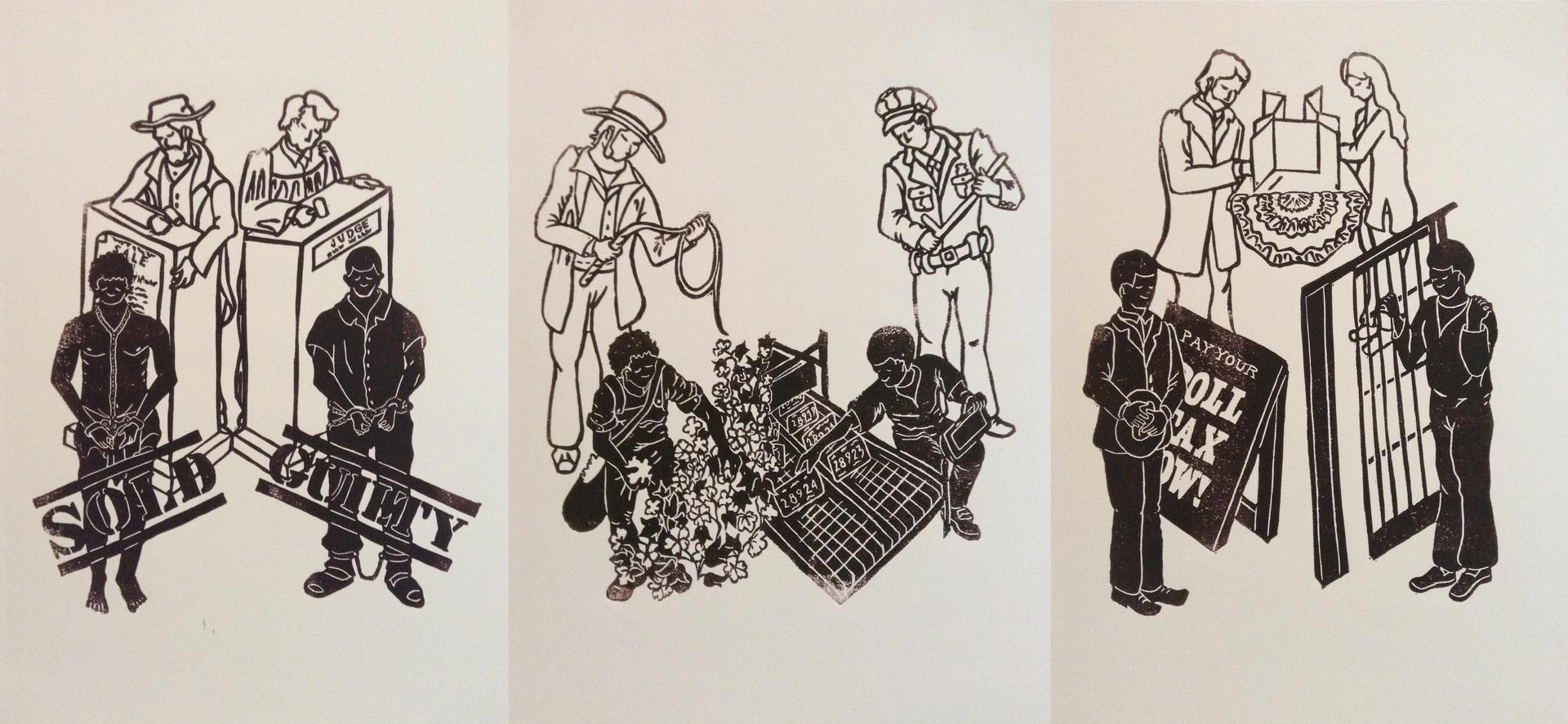 Incarceration: The New Slavery, Rebecca Spilecki