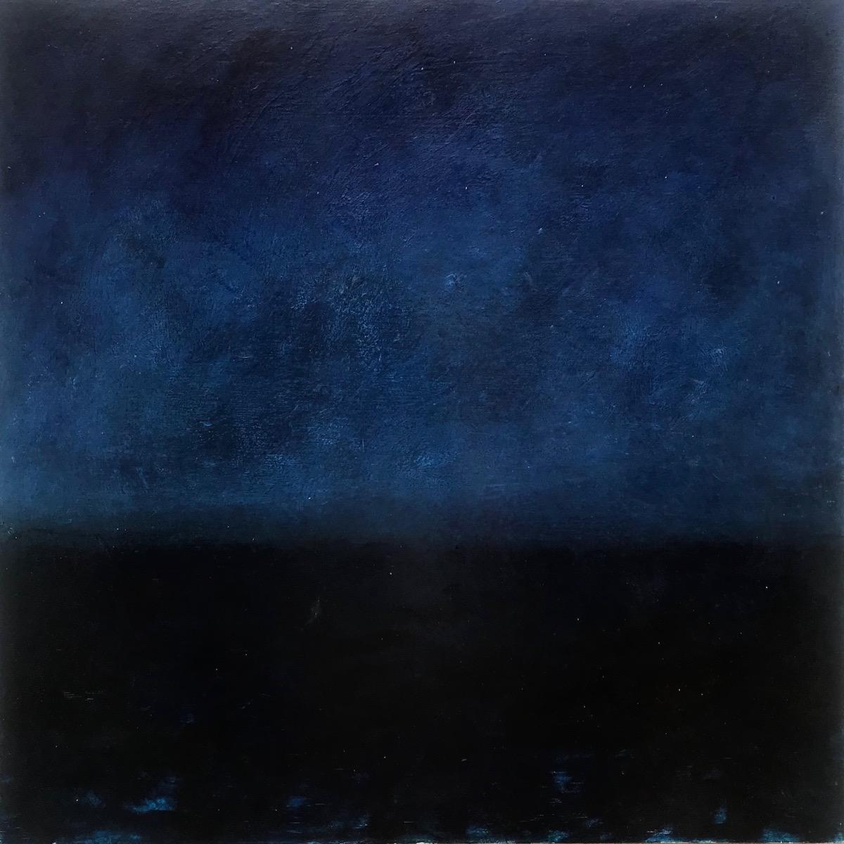 """Sea and Sky at Night"" KristaMachovina"