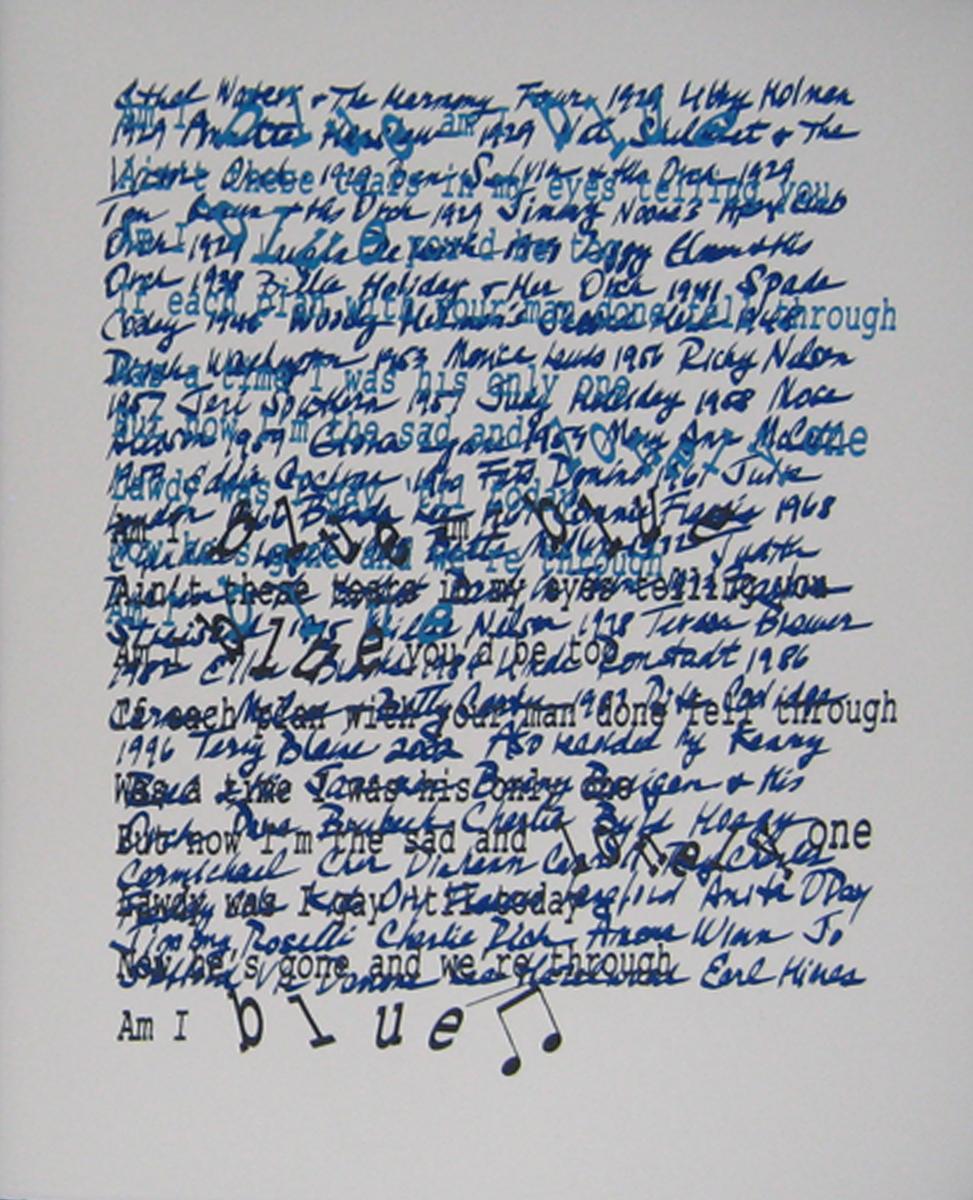 """Am I Blue"" Paula Praeger"