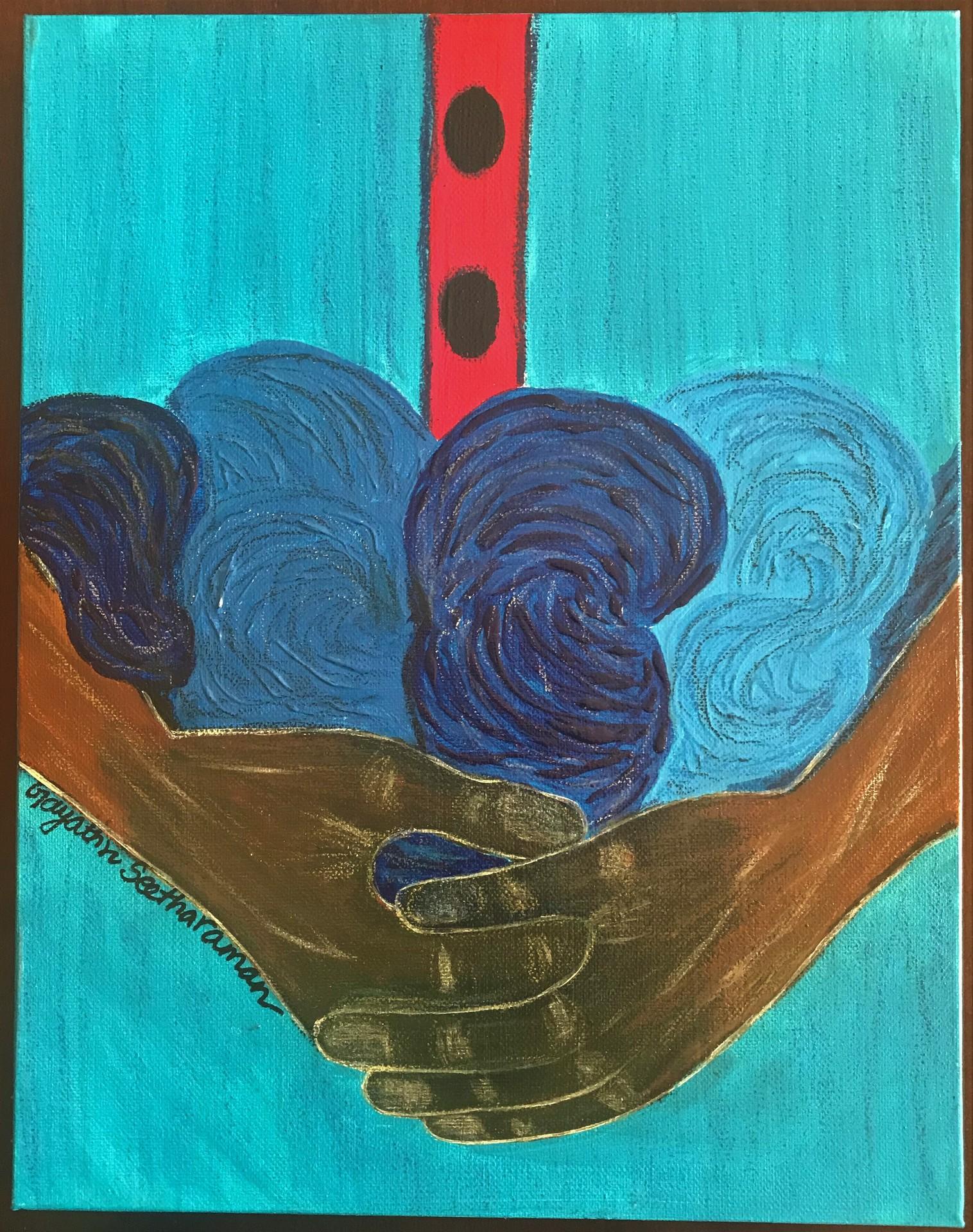 """The Indigo-Blue Maker series - Threads"" Gayathri Seetharaman"