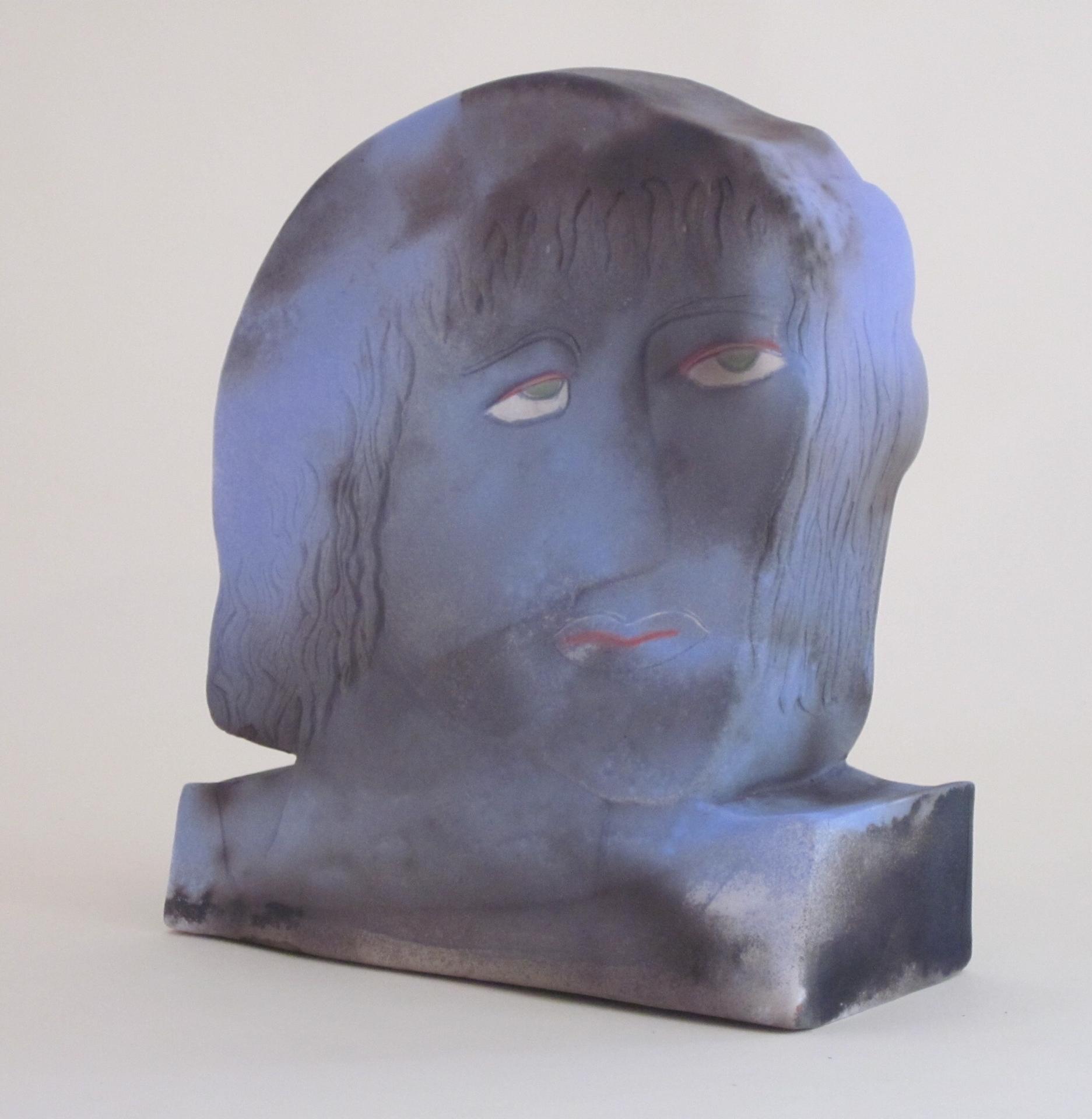 """""""Really Blue"""" Anna Tsontakis-Mally"""