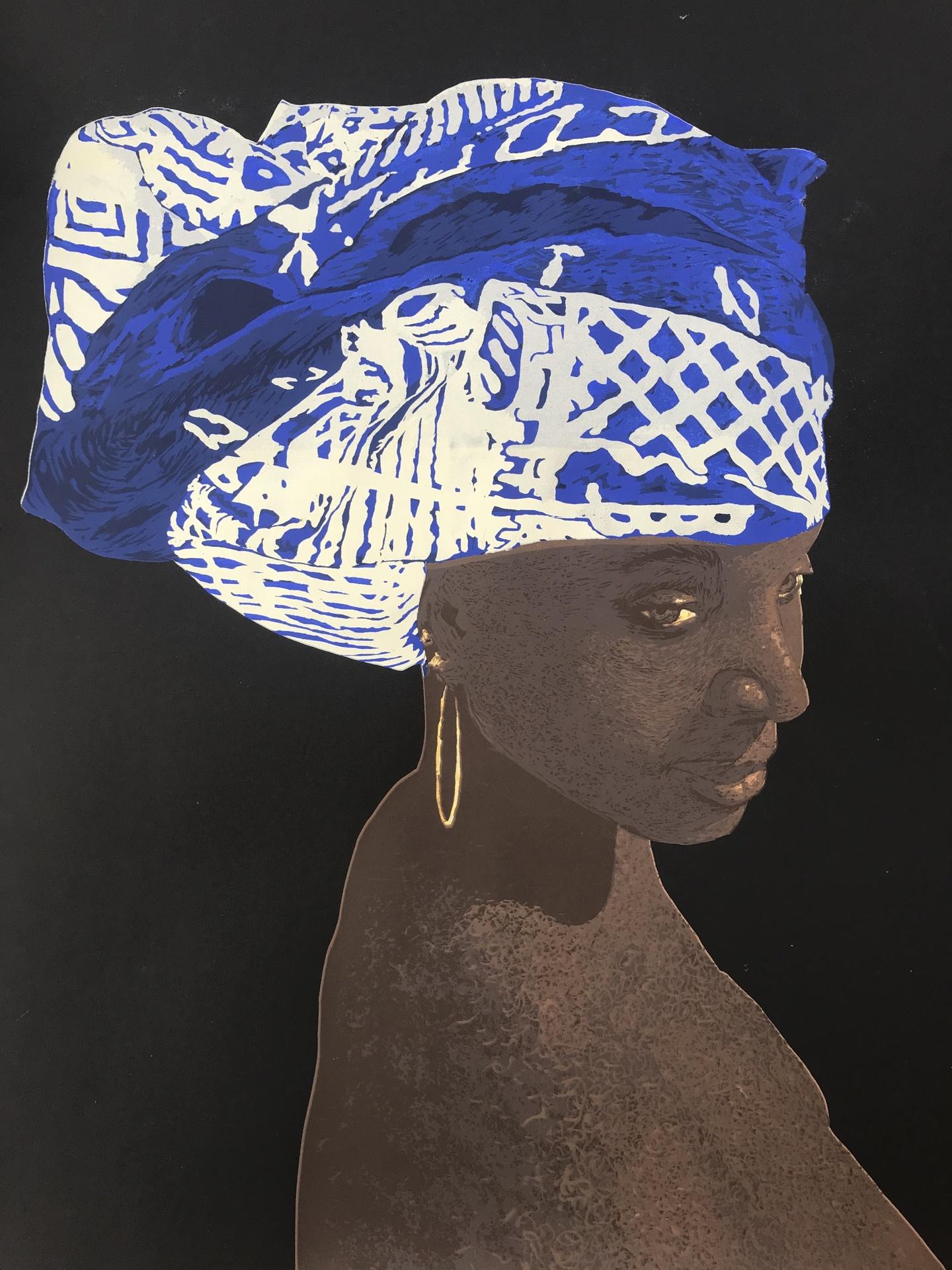 """Blue Crown"" Harris Wiltsher"