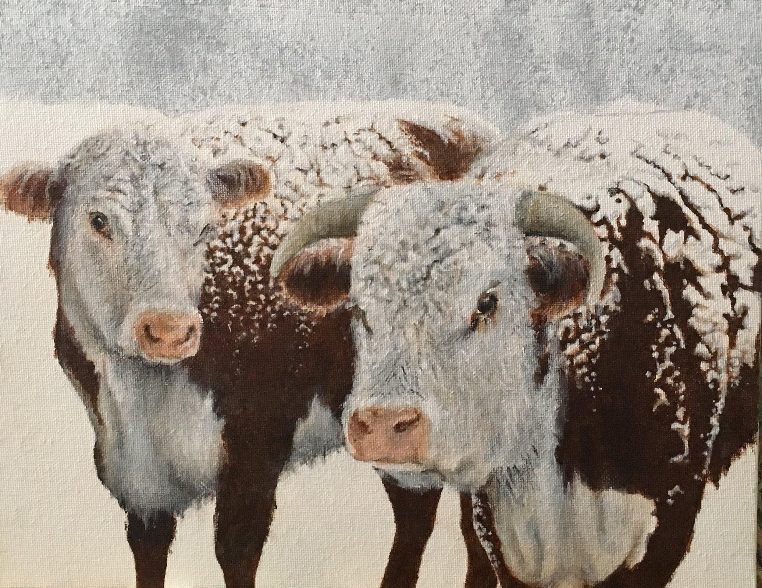 Snowy Morning, Edgar Eslinger