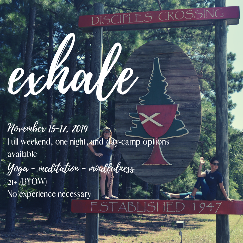 Yoga In The Pines Retreat - - a weekend of rest and renewal in our peaceful camp setting.November 15-17, 2019$150-$420, depending on options selected
