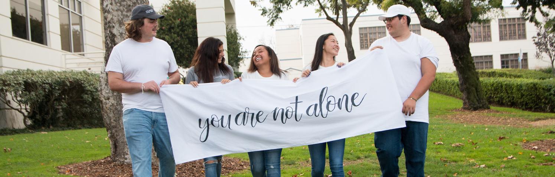 On this photo are Senior students from El Segundo HIgh School, CA, Kaden, Chloe, Payton, Kailea and Bailey,