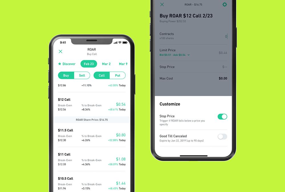 robinhood option trading erfahren sie mehr über den handel mit kryptowährung