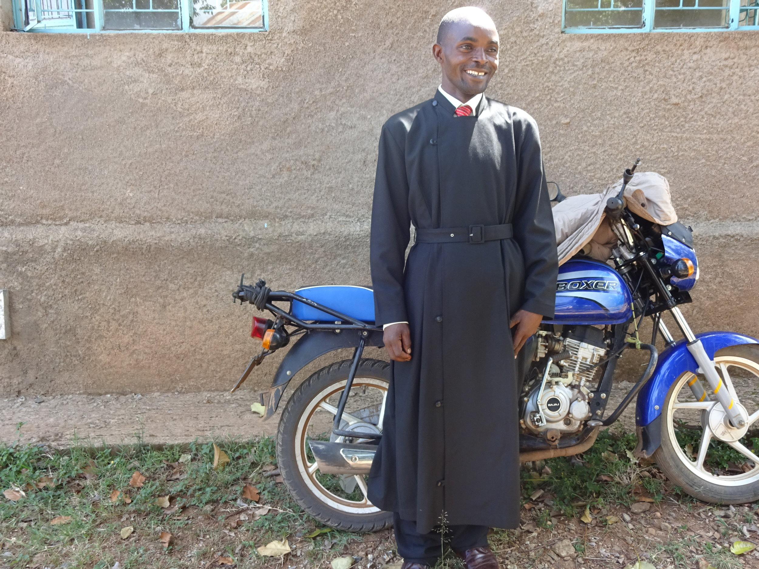 Youth Minister and Motorcycle