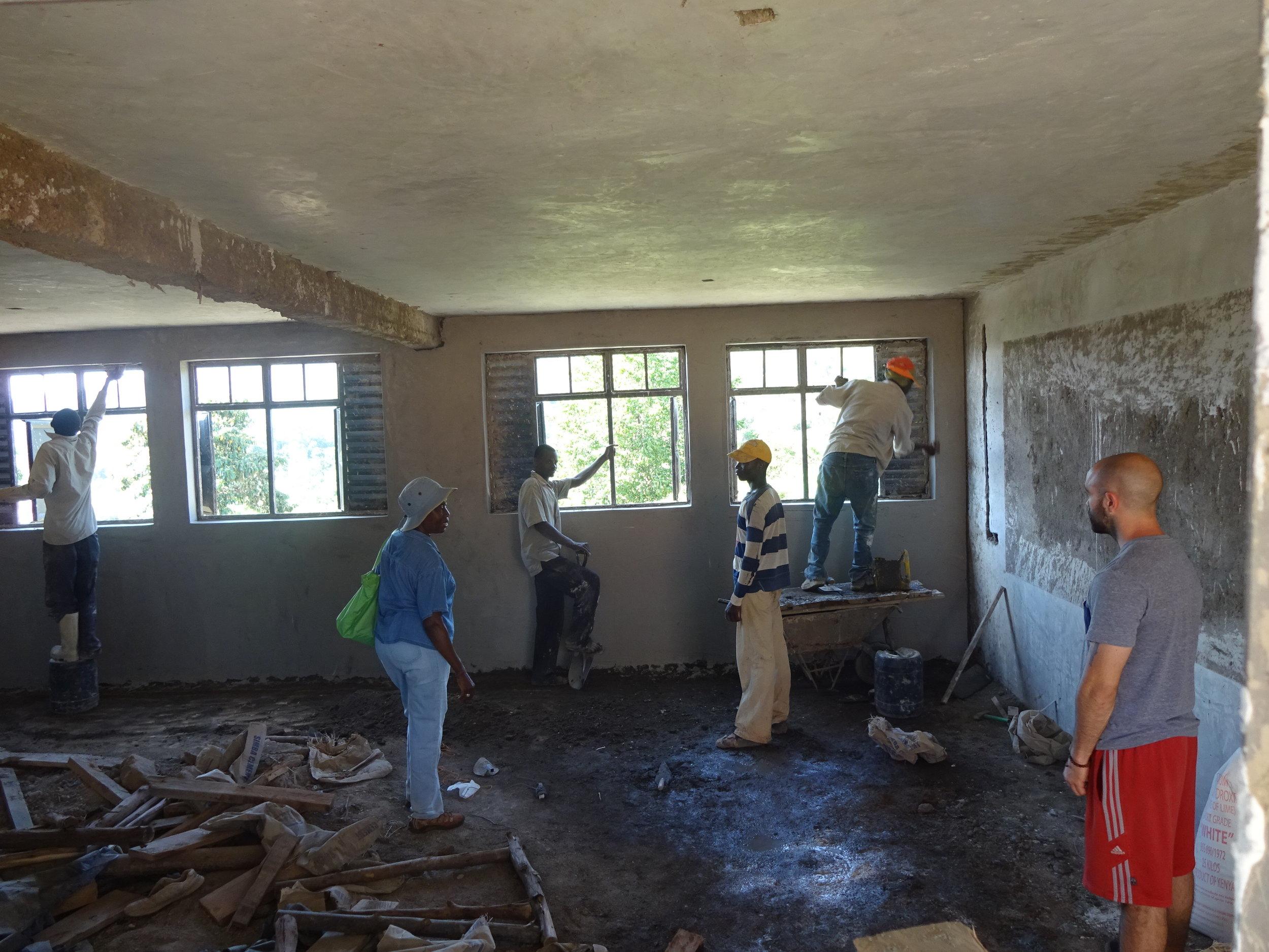 A Classroom is Taking Shape!.jpg
