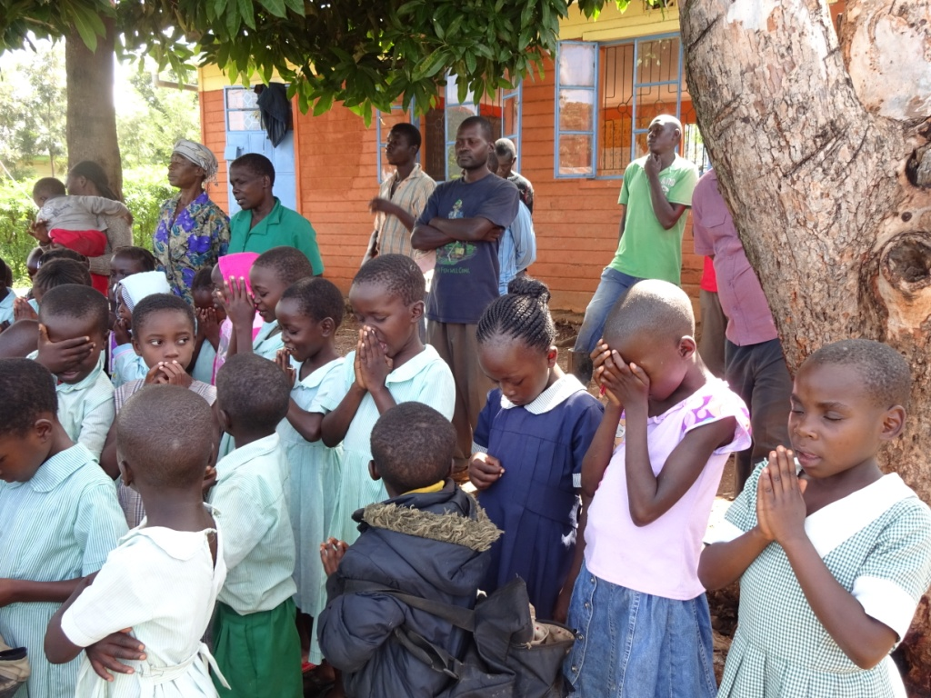 Prayer Upon Breaking of School Construction Ground.JPG