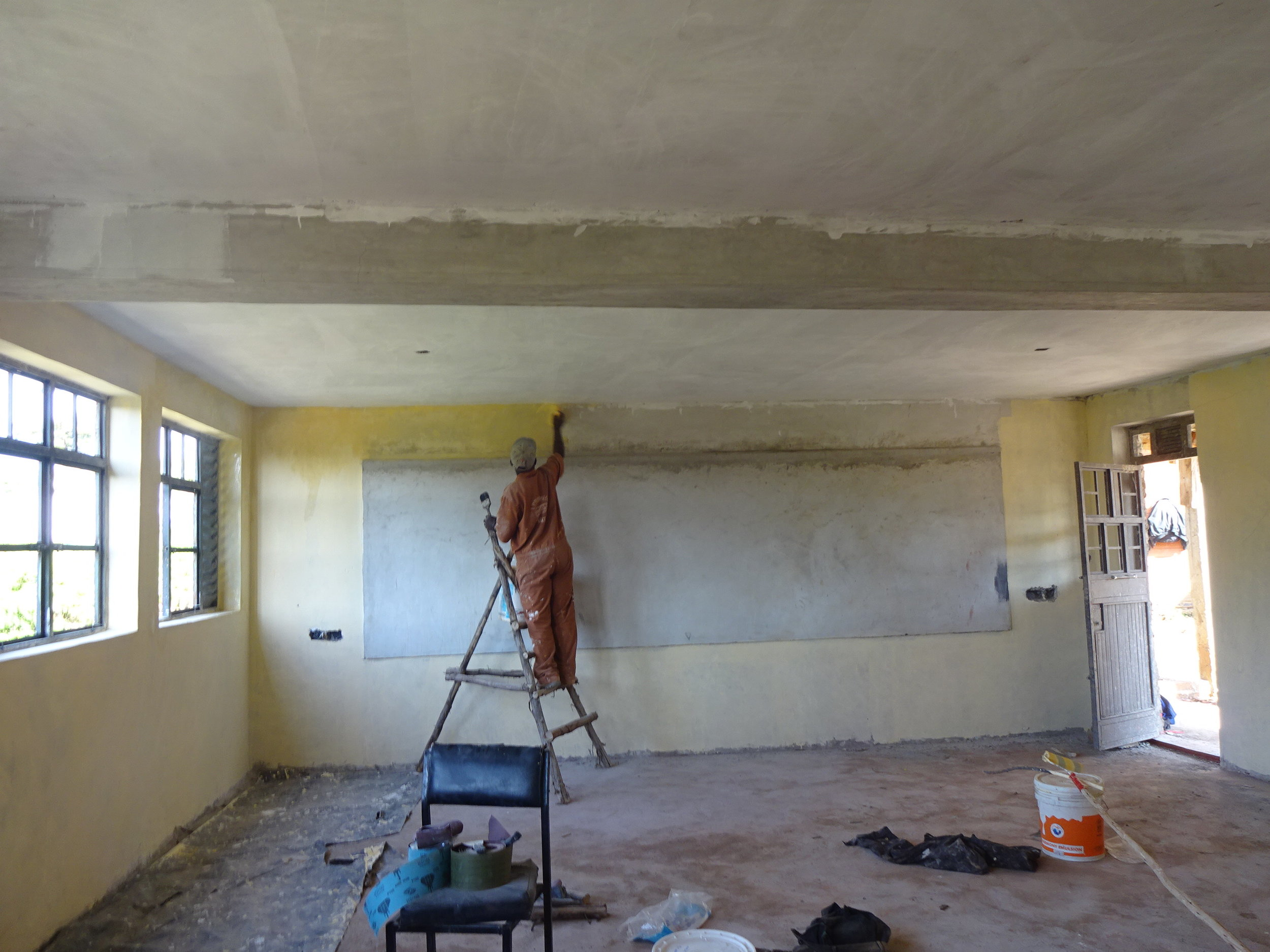 Classrooms Starting to Take Shape