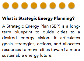 Municipal Strategic Energy Planning   (Municipal - Pilot)