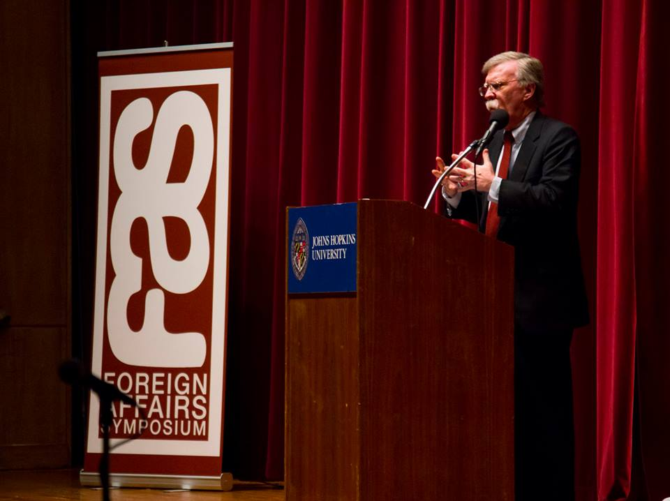 Former US Ambassador to the UN John Bolton speaks for the Foreign Affairs Symposium in our 2014 series.