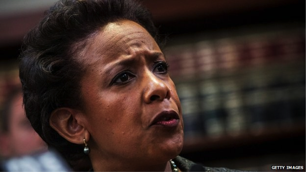 Obama nominates New York prosecutor Loretta Lynch to be next attorney general – if confirmed, she will be the first African-American woman to hold the position. Source: BBC.