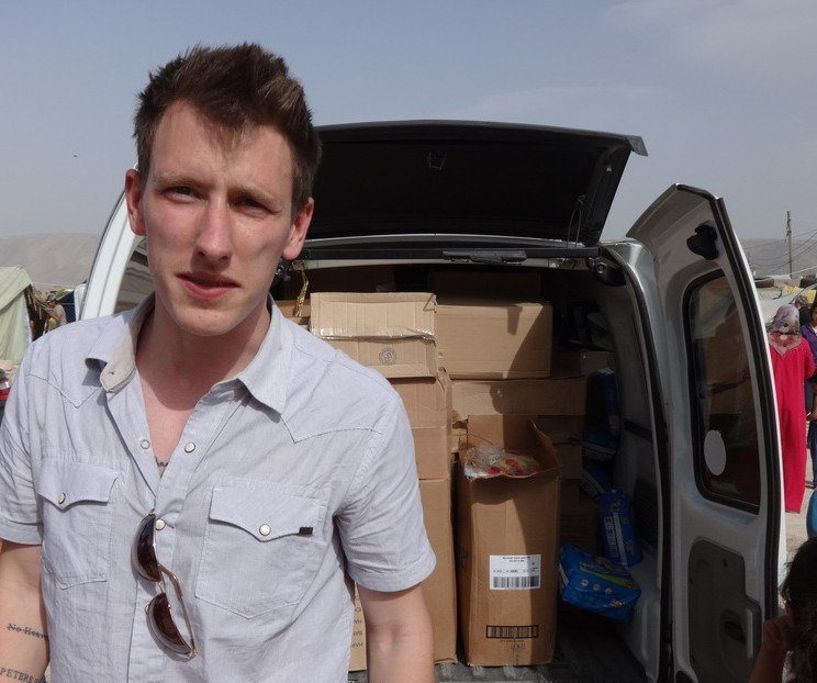 White House confirms US aid worker Peter Kassig beheaded by ISIS in video. Source: AFP/Getty Images.