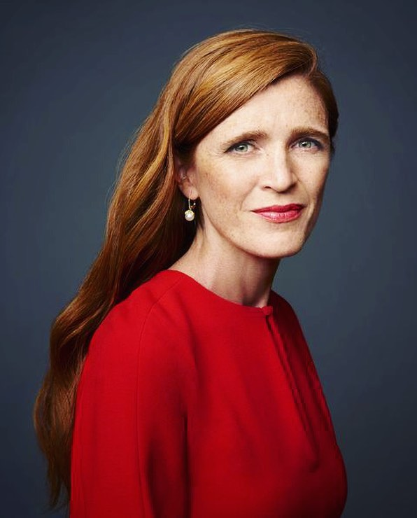 Join us at our next event tomorrow when we are honored to host Samantha Power! Power served as the United States Ambassador to the United Nations from 2013 to 2017. After graduating from Yale University, she began her career in foreign politics by covering the Yugoslav Wars. Upon returning to the United States, Power received a law degree from Harvard University and joined the Carr Center for Human Rights Policy as a Founding Director. She has played a key role in shaping international humanitarian intervention, especially in her National Security Council and UN positions under the Obama Administration. Her first book, A Problem from Hell: America and the Age of Genocide, was awarded a Pulitzer Prize for Non-Fiction in 2003, and Power has been named one of the world's most influential figures by both Time and Forbes. Seating will begin at 7:30 PM on Tuesday (March 13th) at Hodson Hall!  Image: Harper's Bazaar