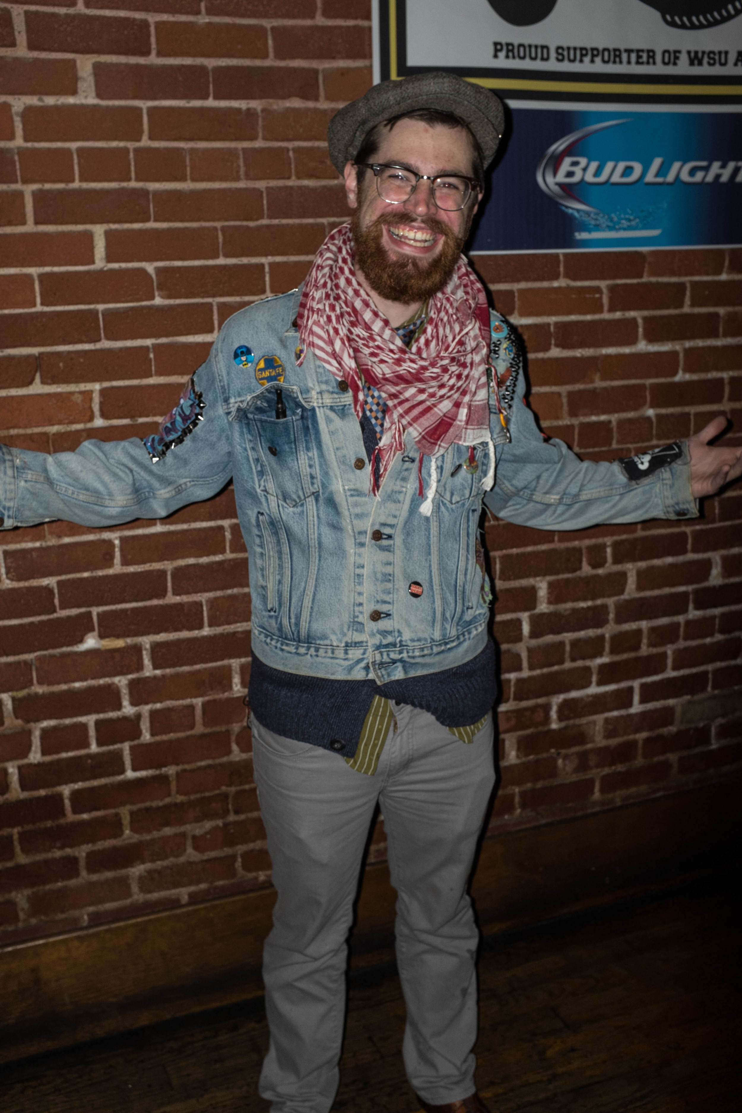 Come on the customized jean jacket?! Doesn't get any better than that!