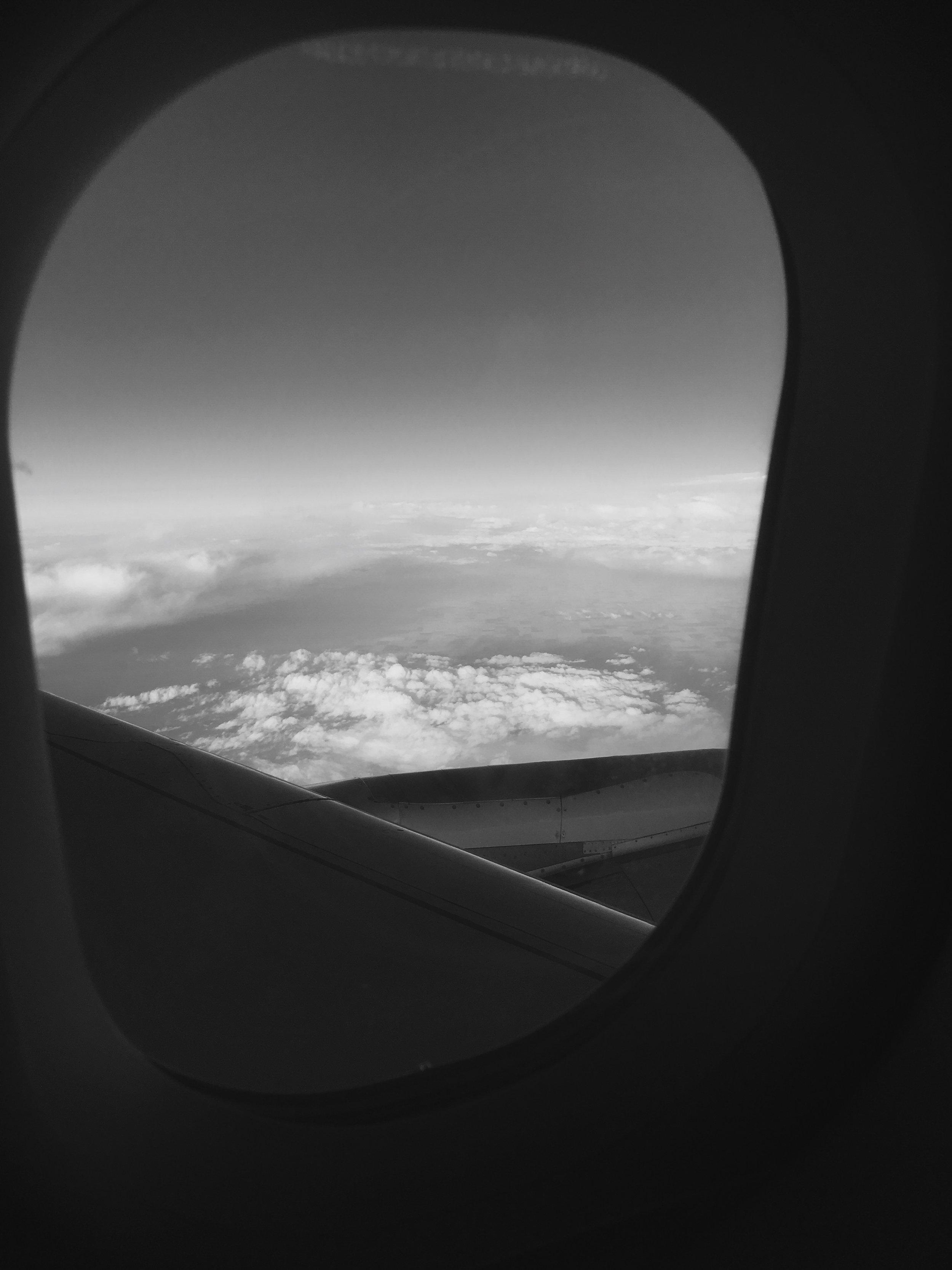 Somewhere over Colorado
