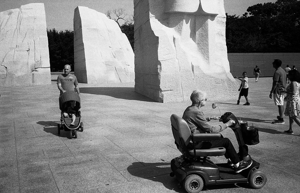 MLK Monument, Washington DC, 2017