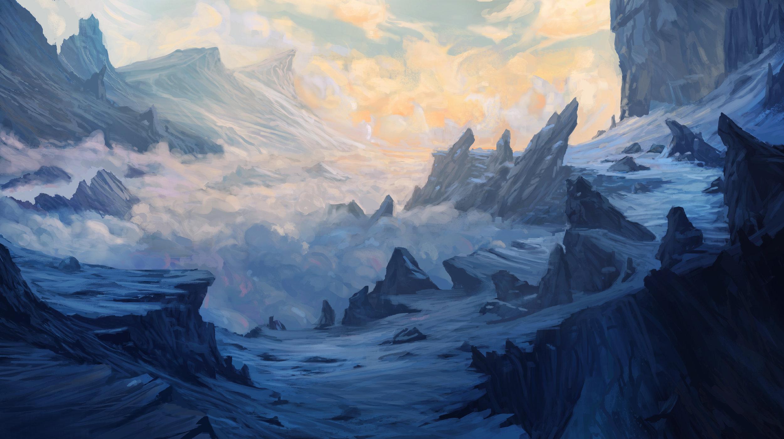 Frozen Pass of Staarmongk